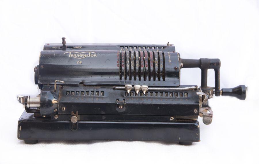 Świeże Kalkulator Triumphator - ANTYKI i Pizdryki - Rzeczy z duszą JM56